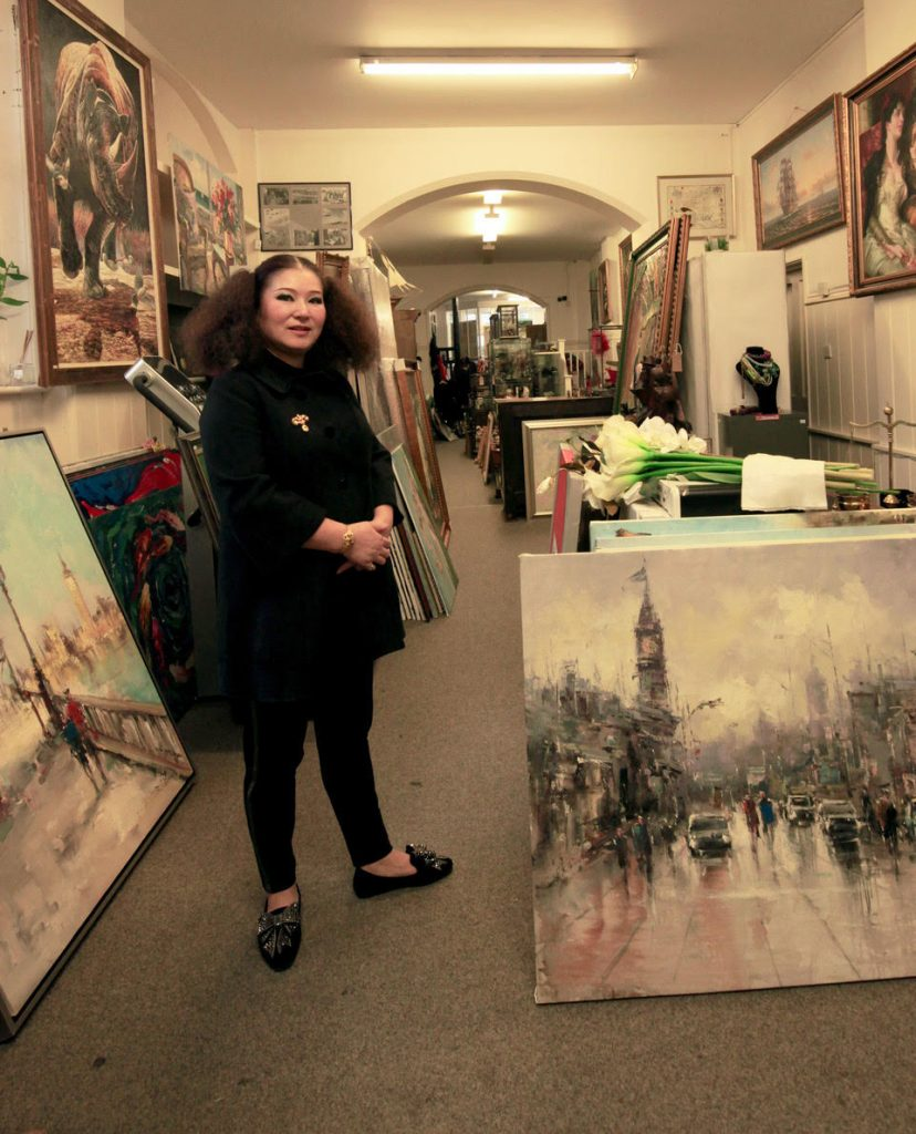 AMY M In her gallery